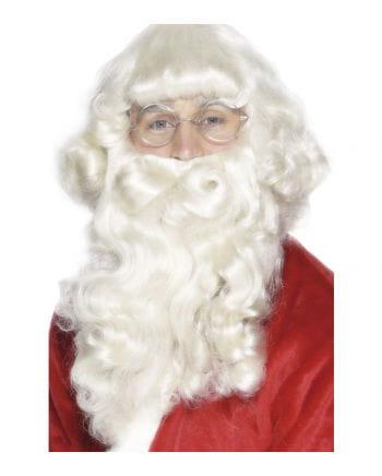 Santa Bart & Perücke Set