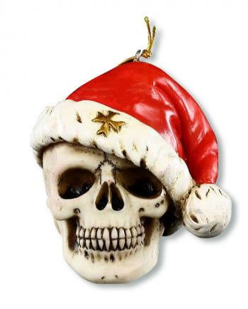 Santa Schädel Weihnachtskugel