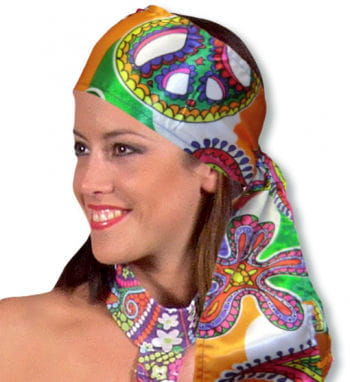 Satin Scarf Colorful