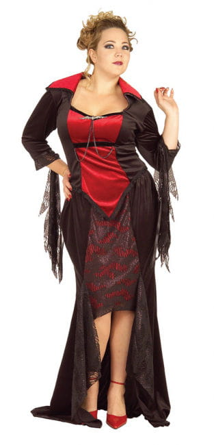 Scarlet Vampira Costume XL