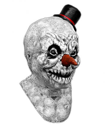 Scary Schneemann Mask Made Of Latex