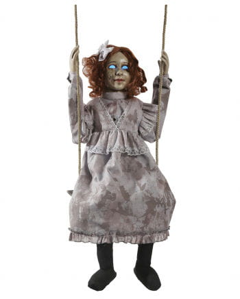 Rocking Scary Doll Animatronic