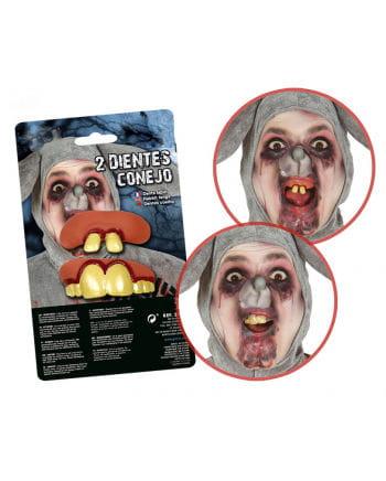 Angled Rabbit Teeth 2-pack