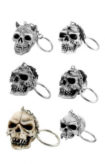 Skull Head Keychain