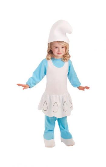 Schlumpfine Kleinkinder Kostüm