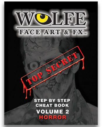 Schminkbuch Face Art Horror