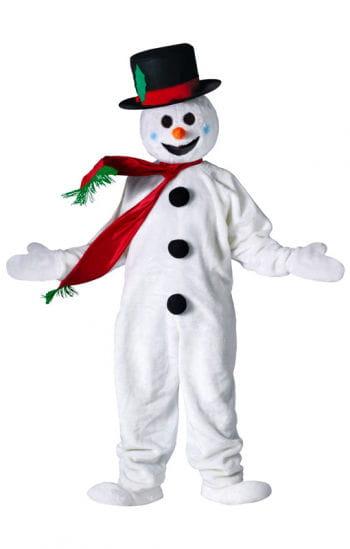Schneemann Kostüm Deluxe
