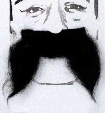 Moustache Brummel Black