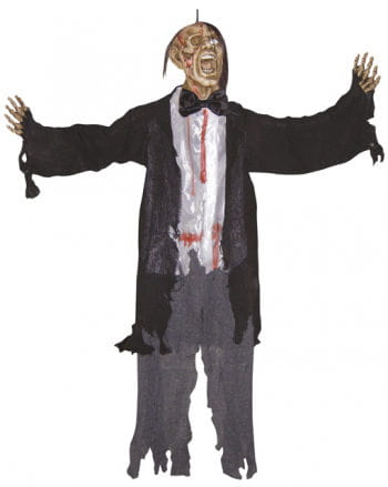 Screaming Zombie Hanging Figure