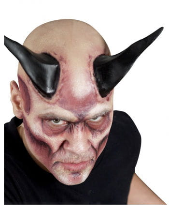 Dämonen-Hörner schwarz XXL