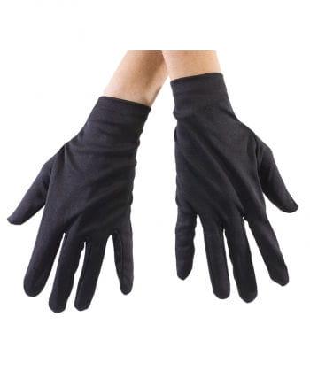 Black Fabric Gloves