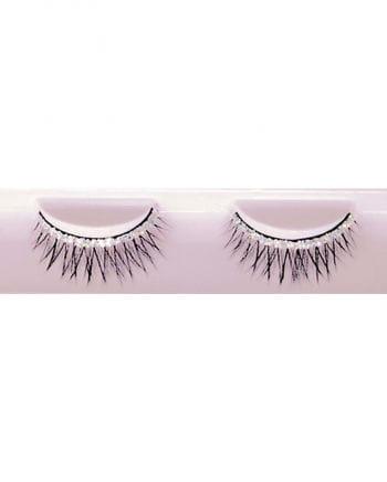 Black Eyelashes With Diamond Glitter