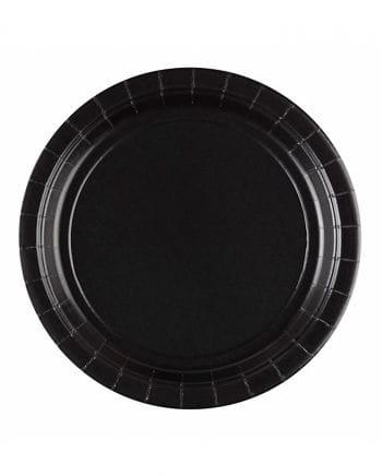 Pappteller schwarz