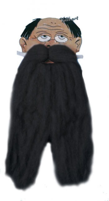 Full Beard Black