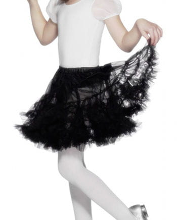 Black petticoat for girls