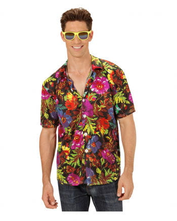 Hawaiian Shirt Black XL