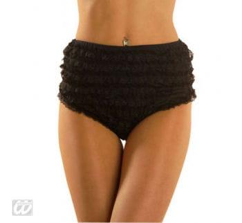 Black Lace Crotch