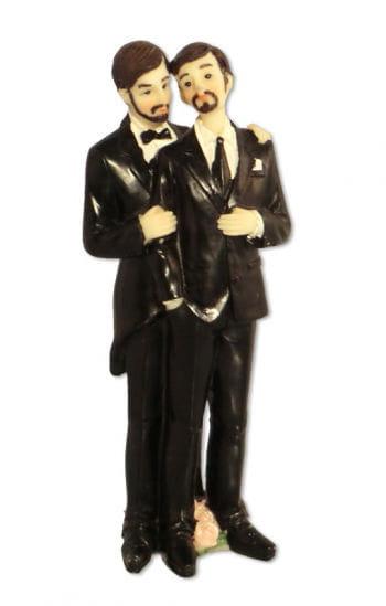 Schwules Hochzeitspaar 16 cm