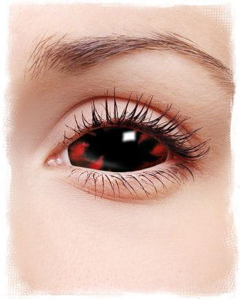 Sclera Kontaktlinsen Flammen