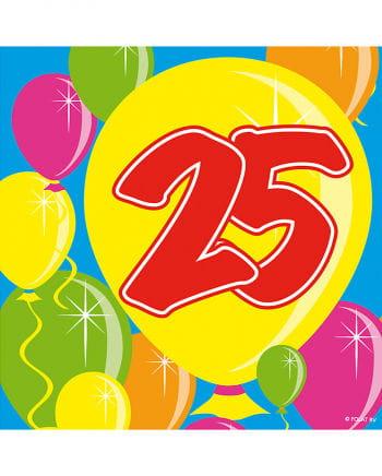 Napkin Balloon 25