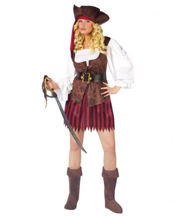 Sexy Pirate Lady Costume Small Medium