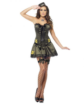 Army costume for women