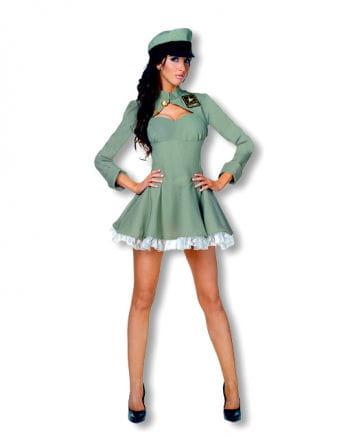 Sexy Army Girl Premium Costume