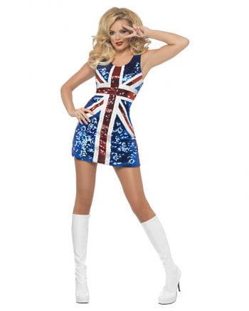 Sexy Britannia Kostüm