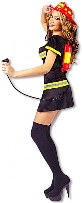 Sexy Feuerwehr Lady Kostüm 40/42 ML M/L 38-40