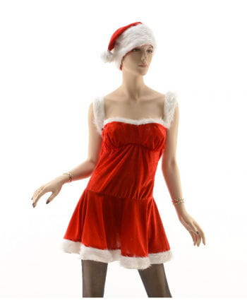 Sexy Santa Costume with Hat