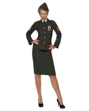 Sexy female soldier Kostm