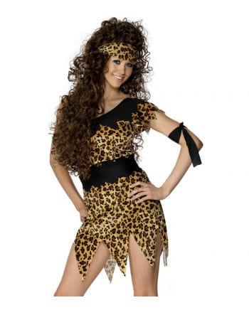 Sexy Steinzeit Frauen Kostüm
