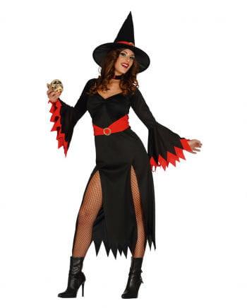 Sexy Witch Hexenkostüm Black / Red