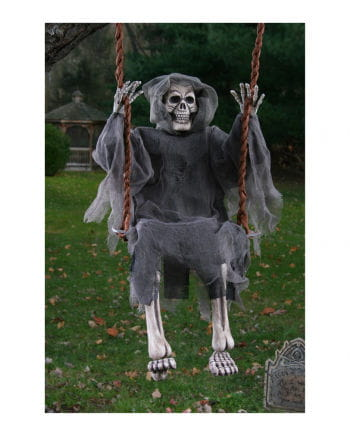Skeleton Ghost on the swing