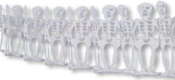 Skelett Girlande