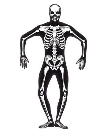 Skelett Skinsuit Glow in the Dark