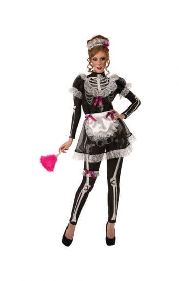 Skelettiertes Dienstmädchen Kostüm