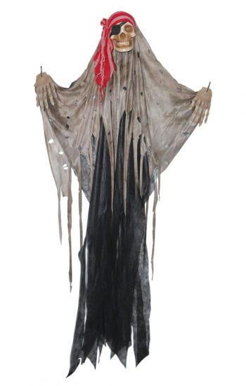Skull Piraten Vorhang schwarz