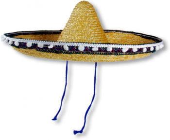 Sombrero mit Bommelrand