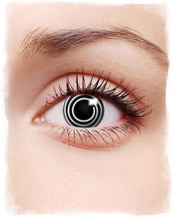 Spiral Kontaktlinsen Black & White
