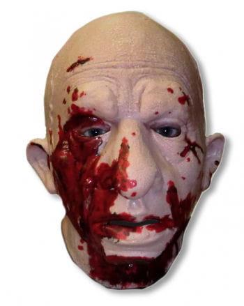 Splatter Ed Zombie Mask