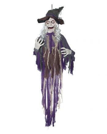 Talking Witch Halloween Hanging Figure 160 Cm