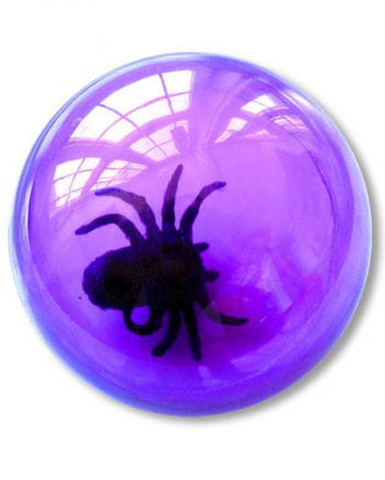 Spring Ball purple with spider