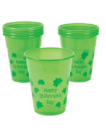 Happy St. Patrick's Day Trinkbecher 25 Stück