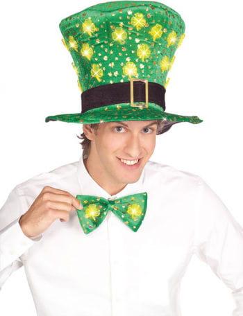 St. Patrick`s Fliege mit LED