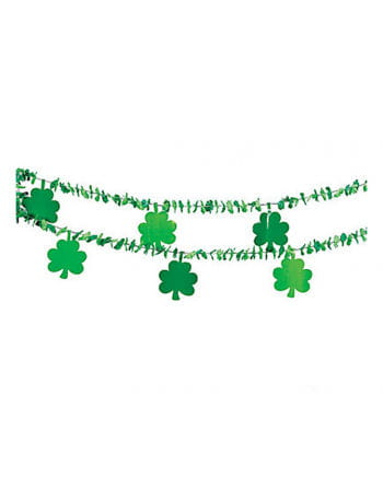 St. Patrick`s Day Shamrock Garland
