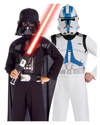 Darth Vader & Clone Trooper Kids Costume Set