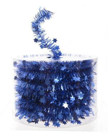 Sterngirlande - Königsblau
