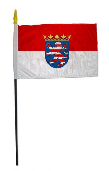 Stockflagge Bundesland Hessen