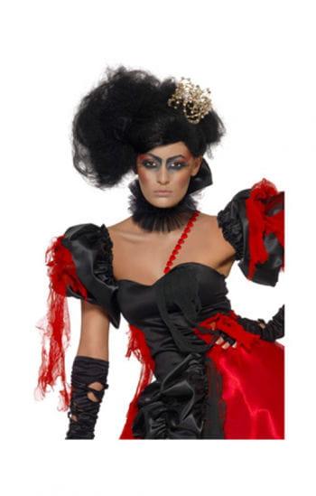 Stylische Damen Perücke schwarz